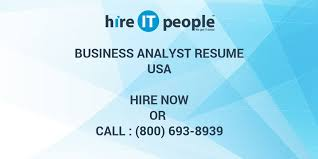 sle resume for business analyst role in sdlc phases system business analyst resume hire it people we get it done