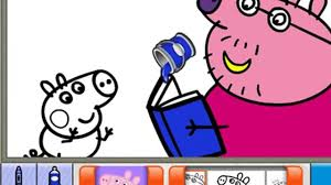colouring games peppa pig pig painting games peppa coloring