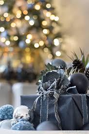 blue black and white christmas cuckoo4design