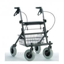 avec siege déambulateur 4 roues avec siège et panier rollator careserve