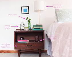how to style a nightstand u2014 tastemaker blog