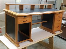 Free Wood Office Desk Plans by Attractive Computer Desk Plans With 1000 Images About Computer
