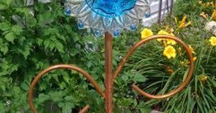 Diy Garden Crafts - easy to make dish flowers hometalk