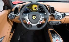 2016 458 italia interior overview image 10179