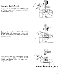 singer 2001 touch tronic sewing machine threading diagram