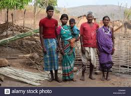 tribal family kamar tribe matal chattisgadh india