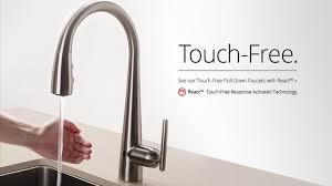 touchless faucet kitchen kitchen design astonishing best touch faucet delta no sink sensor