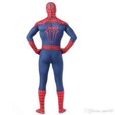 Blue Man Group Halloween Costume 2015 Strong Muscles Spiderman Tights Spider Man Costume