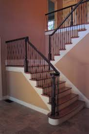 Iron Stair Banister Iron Stair Railings D R S Stairs Inc