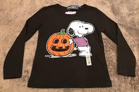 halloween long sleeve t shirts old navy peanuts snoopy pumpkin black t shirt halloween long