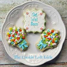 get well soon cookies 15 best cookies get well soon images on cookies