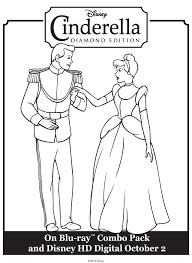 cinderella u0026 prince charming free printable coloring pages