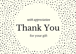 birthday gift thank you note wording exles