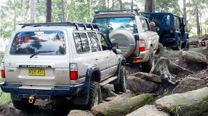 nissan jeep jeep vs nissan vs toyota the rock garden ourimbah youtube