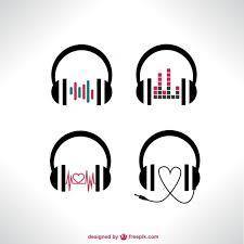 headphone logo design dj logo design on behance longwan co