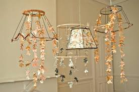 Cricut Chandelier Paper Flower Chandelier White Butterfly And Flowers Chandelier For