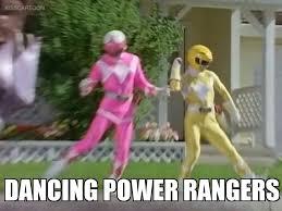 Power Ranger Meme - dancing power rangers meme by kaijuboy455 on deviantart