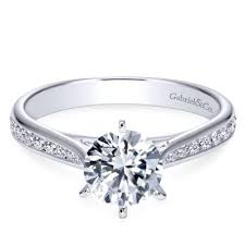 channel set engagement rings channel engagement rings solomon brothers
