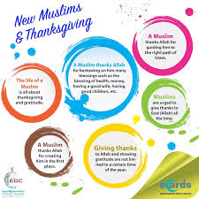 celebrating thanksgiving as a new muslim ok about islam