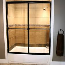 Sliding Bathtub Shower Doors Great Sliding Tub Shower Doors With Sliding Bathtub Doors American