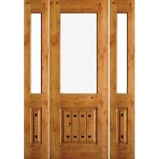 glass wood doors 1 2 lite doors with glass wood doors the home depot