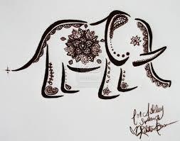 elephant henna google search tattoo pinterest hennas