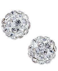 white gold earings stud earrings in 10k white gold earrings jewelry