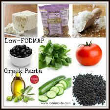 Food Map Diet Low Fodmap Wheat Free Greek Pasta Salad Recipe Fodmap Life