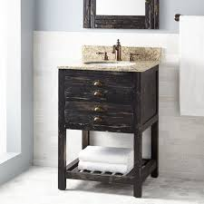 24 inch bathroom sink bathroom incredible classic 24 inch vanity white finish with basket