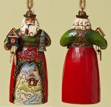 jim shore heartwood creek ornament collection german santa ornament
