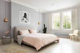 pink and gray bedroom 10 dusky pink and grey bedrooms we love on houzz