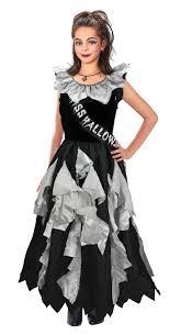 11 13 years girls zombie prom queen costume fancy dress