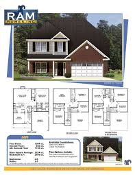 new home builders in greensboro ram homes ram homes 2499 plan