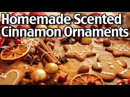 how to make scented cinnamon ornaments