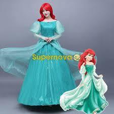 Princess Ariel Halloween Costume Buy Wholesale Princess Ariel Dress Cosplay Costume