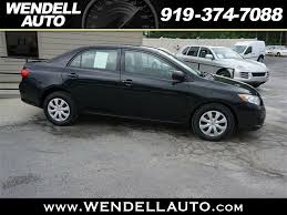 toyota corolla s 2009 for sale 2009 toyota corolla s for sale in wendell