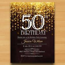 best 25 50th birthday invitations ideas on 50th