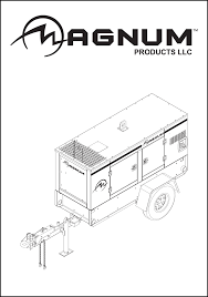 magnum diesel generator operating manual mmg 35 55 80 80p documents