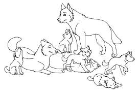 Wolf Color Page Babies Wolf Coloring Page Twilight Wolf Pack Wolf Pack Coloring Pages