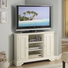 tall tv cabinet with doors white painted mahogany wood corner tv stand with classic swing doors