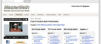 8 websites to download 7th grade math worksheets