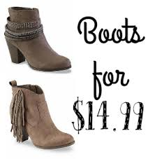 womens boots sears sears deal boots for 14 99 southern savers