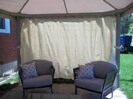 Outdoor Gazebo Curtains Gazebo Privacy Curtains Best Images Collections Hd For Gadget