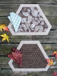 quilted placemats for round tables quilt sew chic simple elegance table fashions placemat pattern