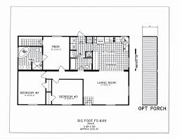 3 Bedroom Floor Plan by 3 Bedroom Floor Plan C 8109 Hawks Homes Manufactured