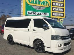 van toyota 2009 toyota hiace van super gl long wide used car for sale at