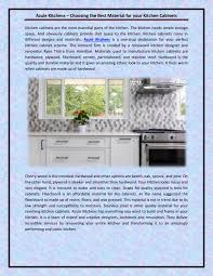 best material for kitchen cabinets azule kitchens choosing the best material for your kitchen