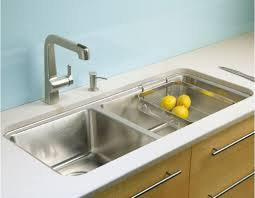 Drop In Stainless Steel Sink Kitchen With Stainless Steel Drop In Sink A Drop In Sink In Your