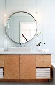 cheerful round mirror for bathroom best 25 ideas on pinterest