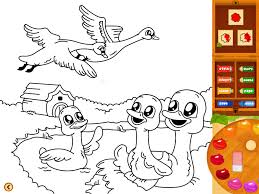 ugly duckling coloring book lite por zvonimir juranko